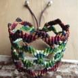 マクラメ編みブレスレット